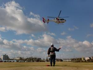 ヘリ安全管理