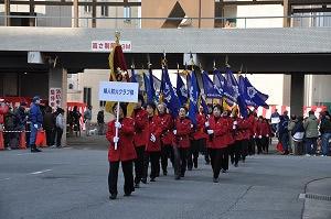 消防出初式入場行進(平成22年)