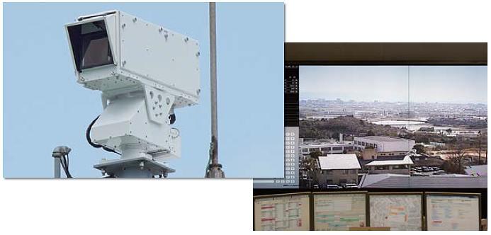 高所監視カメラ
