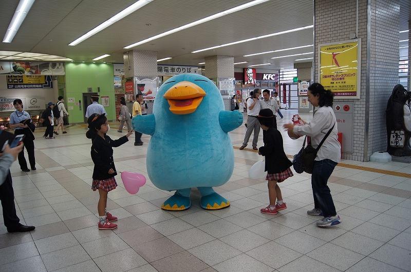 JR明石駅救急フェアー2015