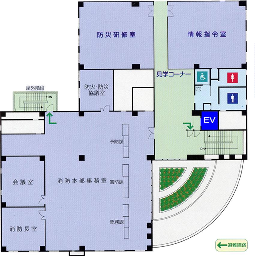 明石市防災センター4階